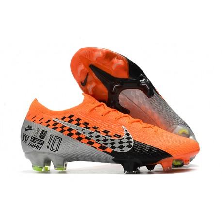Nike Mercurial Vapor XIII 360 Elite FG SHHH Bota Naranja Negro Cromo