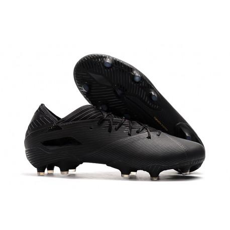 Zapatillas Futbol Tacos adidas Nemeziz 19.1 FG -Negro