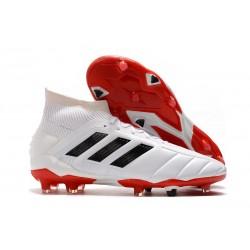 Zapatillas de fútbol adidas Predator Mania 19.1 FG ADV Blanco