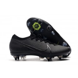 Nike Mercurial Vapor 13 Elite SG-PRO Anti-Clog Traction Negro