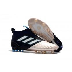 Bota de fútbol ACE 17+ Purecontrol Para Hombres KITH Oro Negro Blanco
