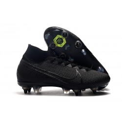 Nike Mercurial Superfly 7 Elite SG-PRO Anti-Clog Negro