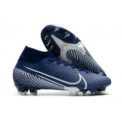 Zapatillas Nike Mercurial Superfly VII Elite SE FG Azul Blanco