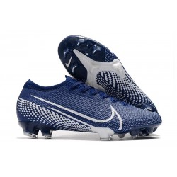 Zapatillas Nike Mercurial Vapor 13 Elite FG ACC Azul Blanco