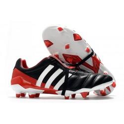 Zapatillas de Futbol Adidas Predator Mania FG Negro Blanco Rojo
