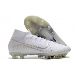 Nike Mercurial-Superfly VII Elite AG-PRO Blanco