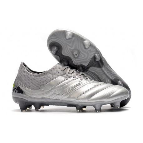 adidas Zapatilla Copa 20.1 FG Silver Amarillo