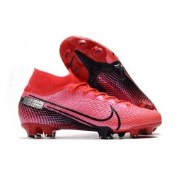 Zapatillas Nike Mercurial Superfly VII Elite SE FG Láser Crimson Negro