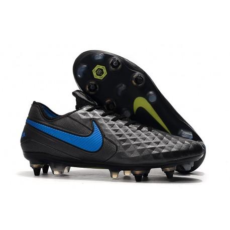 Nike Tiempo Legend 8 Elite SG-PRO Anti-Clog Traction Negro Azul