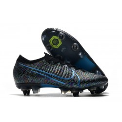 Nike Mercurial Vapor 13 Elite SG-PRO Anti-Clog Traction Negro Azul
