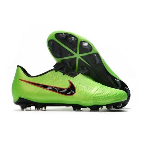 Tacón de Fútbol Nike Phantom Vnm Elite FG Verde Strike Negro