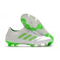 Zapatillas de fútbol Adidas Copa 19.1 FG Blanco Negro Verde
