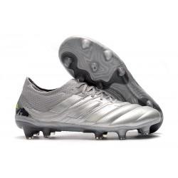 Zapatillas de fútbol Adidas Copa 19.1 FG Silver Amarillo