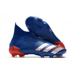 Zapatos de Fútbol adidas Predator Mutator 20+ FG Azul Blanco Rojo