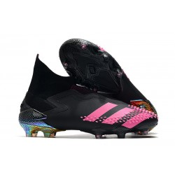 Zapatos de Fútbol adidas Predator Mutator 20+ FG Negro Rosa