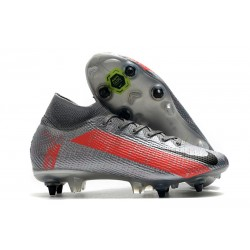 Nike Mercurial Superfly VII Elite SG-PRO AC Neighbourhood - Gris Negro
