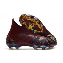 Zapatos de Fútbol adidas Predator Mutator 20+ FG Rojo Negro