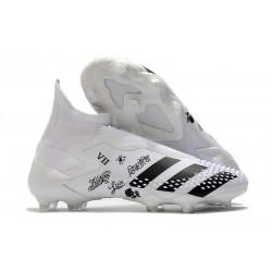 Zapatos de Fútbol adidas Predator Mutator 20+ FG Blanco Negro