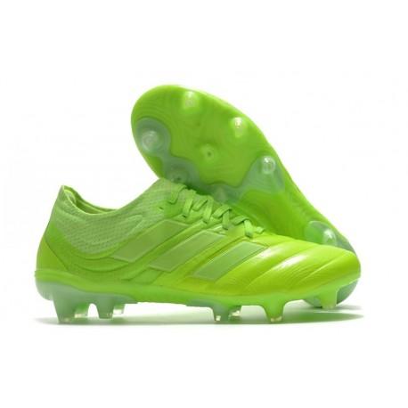 adidas Zapatilla Copa 20.1 FG Verde Blanco