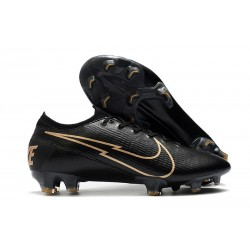 Nike Mercurial Vapor 13 Elite FG Negro Oro