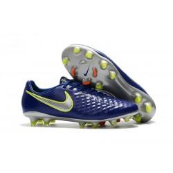 Nuevo Botas de fútbol Nike Magista Opus II FG - Azul Voltio Plateado