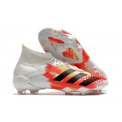 Zapatillas de Fútbol adidas Predator Mutator 20.1 FG Blanco Negro Pop