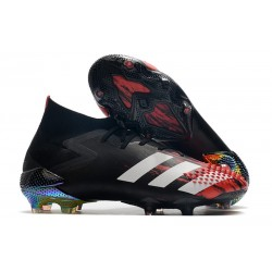 Zapatillas adidas Predator Mutator 20.1 FG Negro Blanco Active Red
