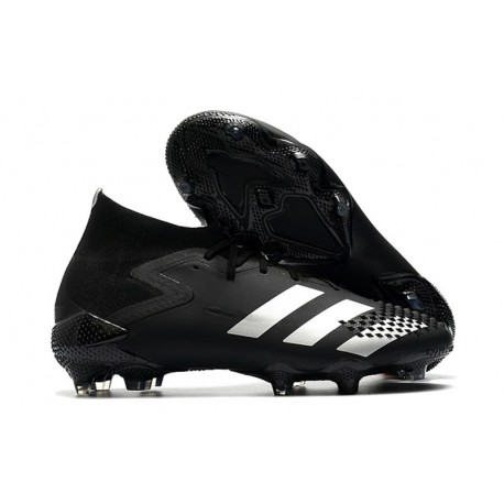 Zapatillas de Fútbol adidas Predator Mutator 20.1 FG Negro Plata