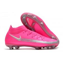 Nike Phantom GT Elite DF FG para Hombre Rosa Plata