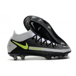 Botas de fútbol Nike Phantom GT Elite DF FG Negro Gris