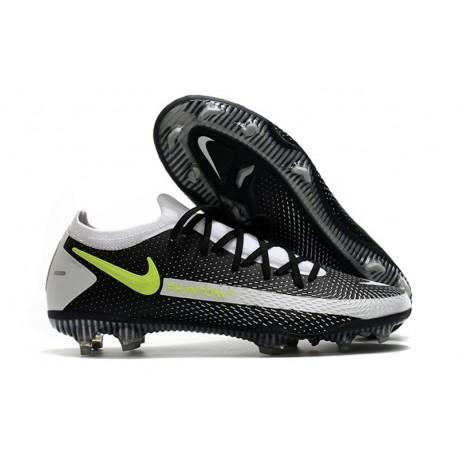 Nike Botas Nuevo Phantom GT Elite FG - Negro Gris Amarillo