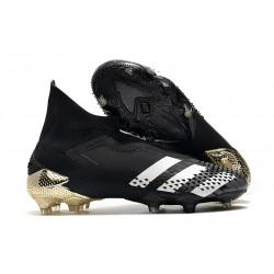 adidas Predator Mutator 20+ FG Botas Negro Blanco Dorado metalizado