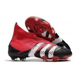 adidas Predator Mutator 20+ FG Botas Rojo Blanco Negro