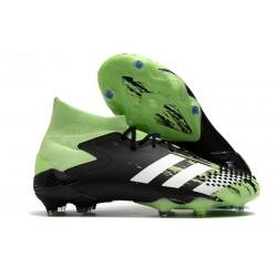Zapatillas de Fútbol adidas Predator Mutator 20.1 FG Verde señal Blanco Negro
