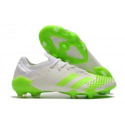 adidas Bota Predator Mutator 20.1 Low FG Blanco Verde