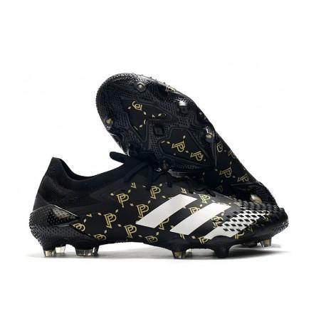 adidas Bota Predator Mutator 20.1 Low FG Paul Pogba Negro Gris