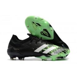 adidas Bota Predator Mutator 20.1 Low FG Verde señal Blanco Negro
