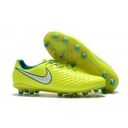 Nuevo Botas de fútbol Nike Magista Opus II FG - Voltio Blanco