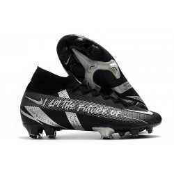 Nike Botas Mercurial Superfly 7 Elite FG Negro Plata
