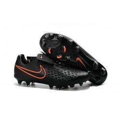 Botas de fútbol Nike Magista Opus II FG Para Hombre - Negro Naranja