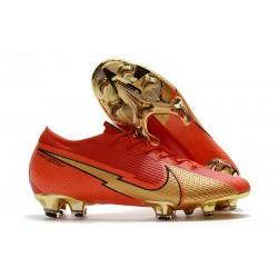 Nike Mercurial Vapor 13 Elite FG Rojo Oro CR100