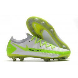 Nike Botas Nuevo Phantom GT Elite FG - Blanco Verde