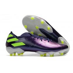 Zapatillas Futbol Tacos adidas Nemeziz 19.1 FG - Violeta Verde