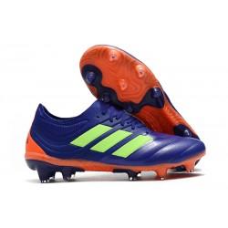 Zapatillas de fútbol Adidas Copa 19.1 FG Violeta Verde