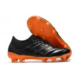 Zapatillas de fútbol Adidas Copa 19.1 FG Negro Naranja