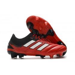 adidas Zapatilla Copa 20.1 FG Rojo Blanco Negro