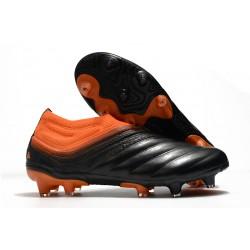 Botas de fútbol adidas Copa 20+ FG Signal Coral Negro Rojo Gloria