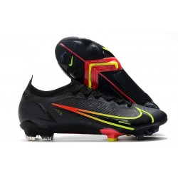 Tacón de Fútbol Nike Mercurial Vapor 14 Elite FG Negro Cyber Off Noir