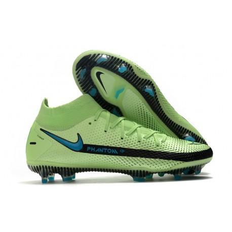 Nike Phantom GT Elite DF FG para Hombre Verde Negro