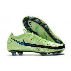 Nike Botas Nuevo Phantom GT Elite FG - Verde Negro Azul